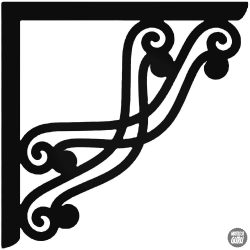 Sarokdísz 4 matrica