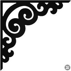 Sarokdísz 7 matrica