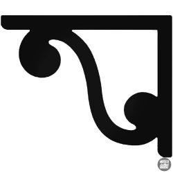 Sarokdísz 8 matrica