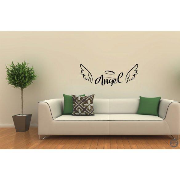 Angel szárnyakkal Falmatrica